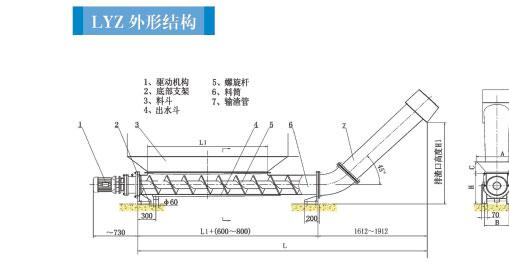 压榨机结构图