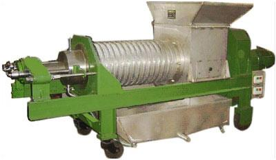 螺旋输送压榨机由驱动装置