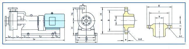 耐磨砂浆泵结构图