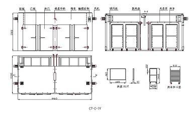 高温烘箱结构